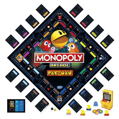Juego Monopoly Arcade Pac-Man