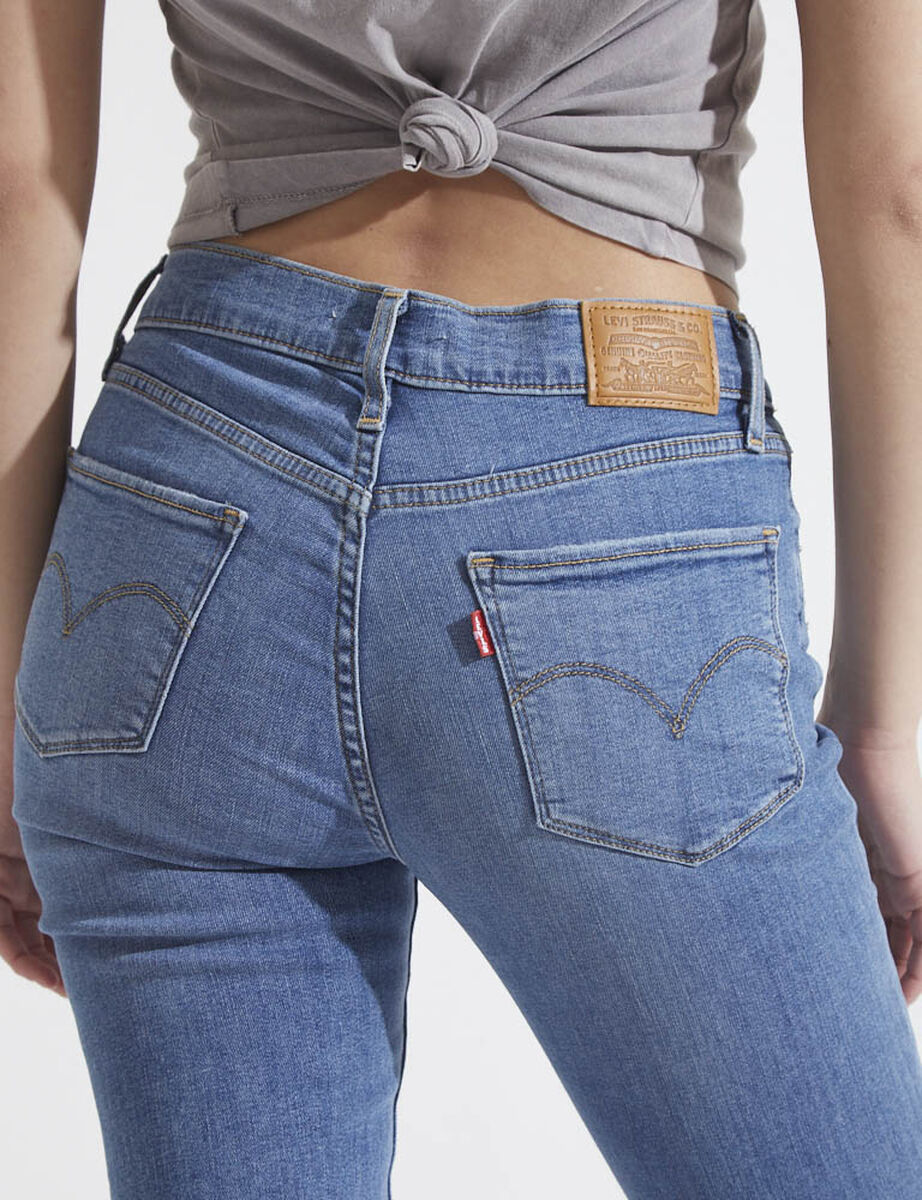 Jeans Tiro Alto Mujer Levis