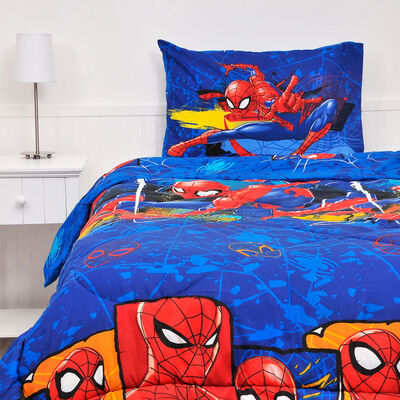 Plumón Spiderman Sling 1,5 Plazas