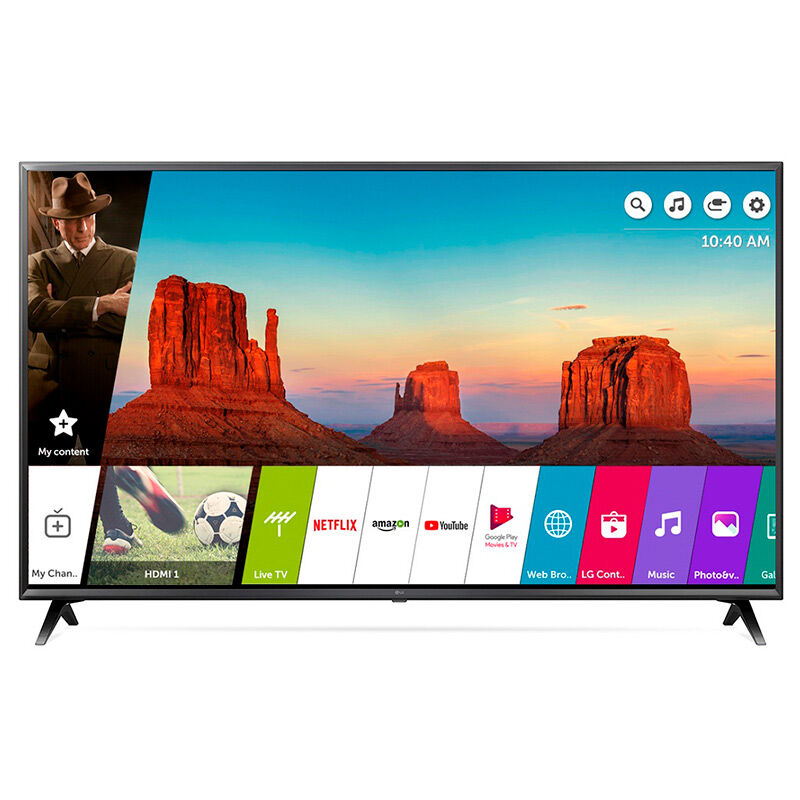 "LED 55"" LG 55UK6200PS Smart TV 4K Ultra HD"