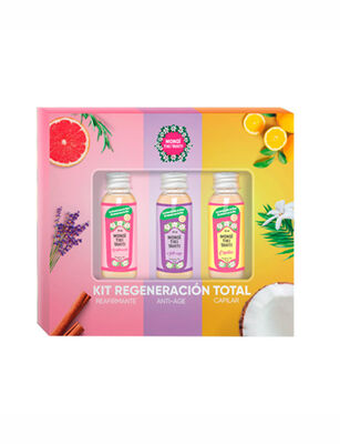 Kit Regeneración Total Monoi Tiki Tahiti 90 ml