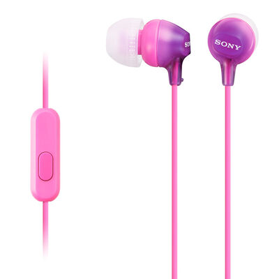 Audífonos Sony MDR-EX15AP Rosados