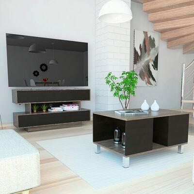 Set Rack TV + Mesa de Centro Bellagio