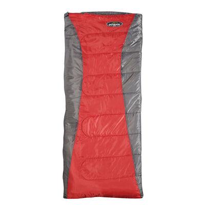 Saco De Dormir Outback Envelope Rojo