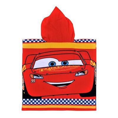 Toalla de Playa Capucha Microfibra Disney-Cars Fireball 60X120 Cm