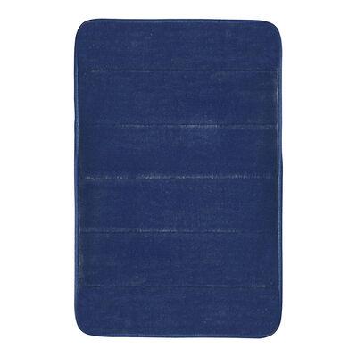 Piso de Baño Mashini Flannel Azul 40 x 60 cm