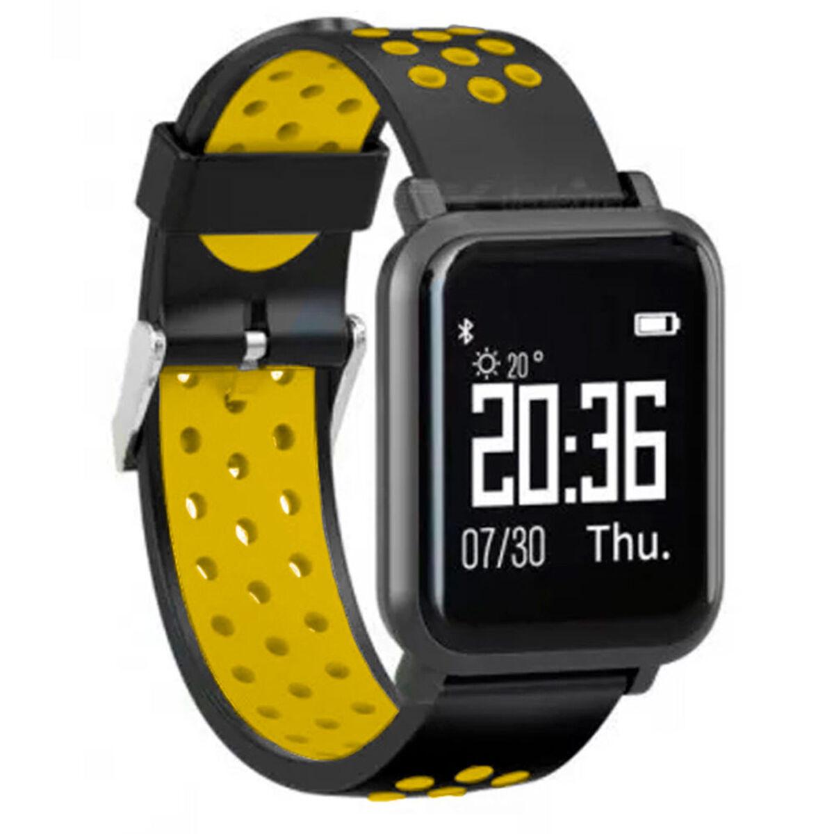 Reloj Deportivo Smartwatch LhotseSW55Amarillo