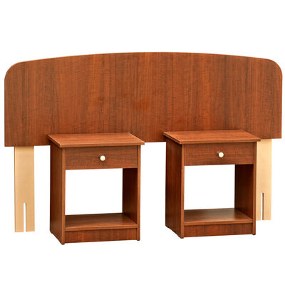 Kit respaldo 2 plazas Mobikit + 2 mesas de noche