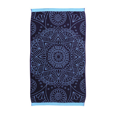 Toalla De Playa Jacquard Simple Mandala 75X150 Cm