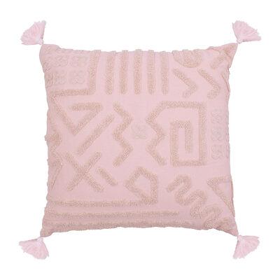 Cojín Bordado Sohome by Fabrics Africa Nude 45 x 45 cm