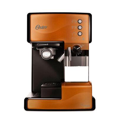 Cafetera Espresso Oster PrimaLatte Cobre 1,2 lts.