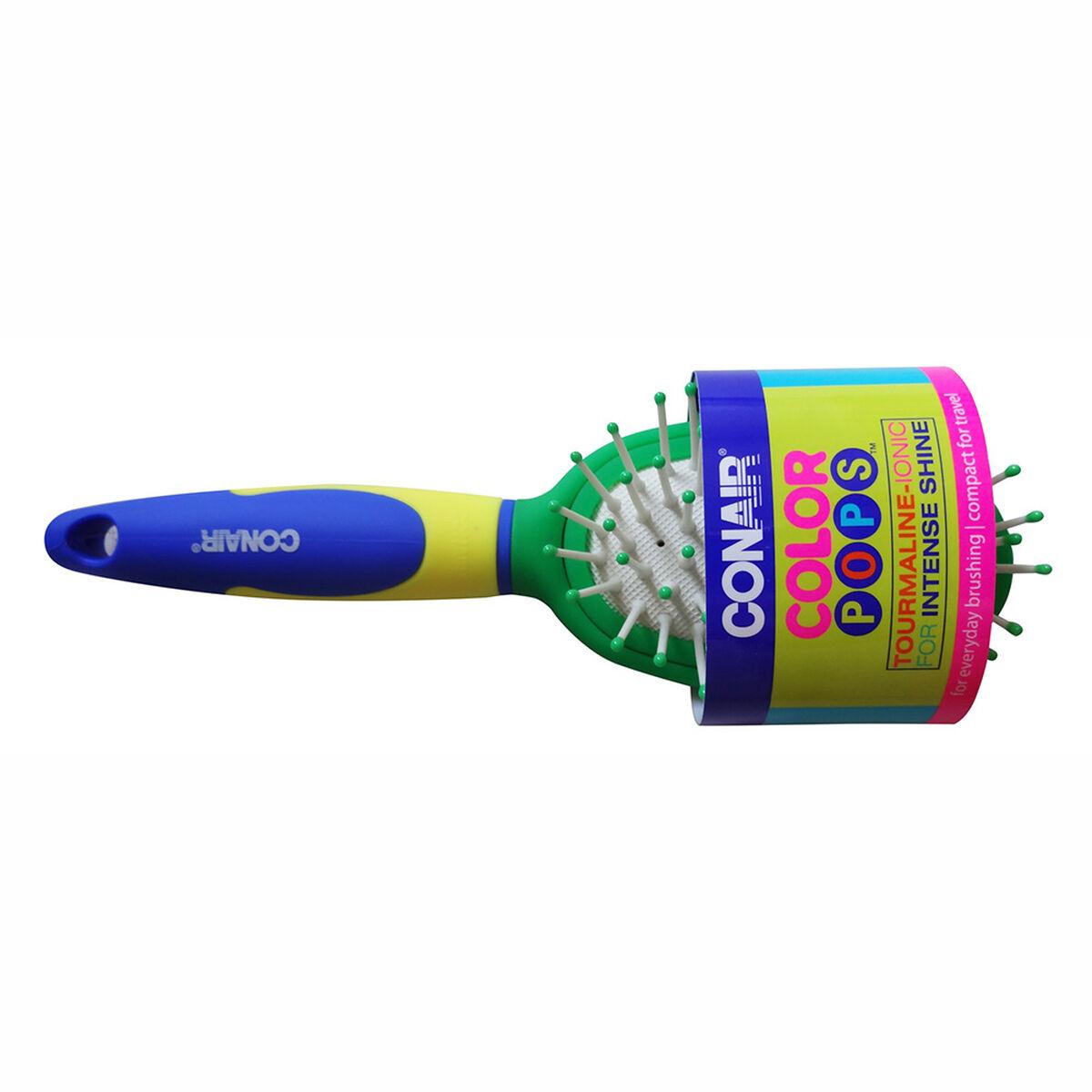 Cepillo Pequeño Ovalado Color Pops Verde