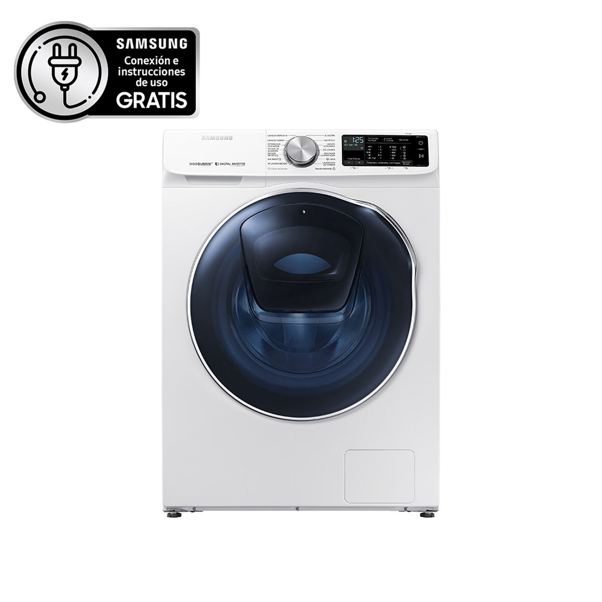 Lavadora Secadora Samsung WD12N64FR2W/ZS 12/7 kg