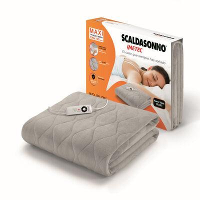 Calientacamas Scaldasonno 1,5 Plazas Maxi Velvet Gris