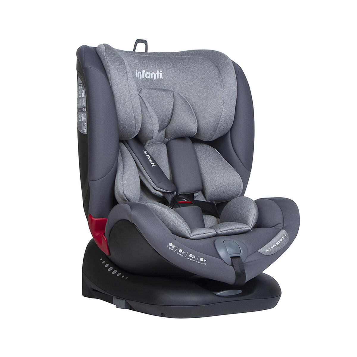 Silla de Auto Convertible All Stages Isofix S