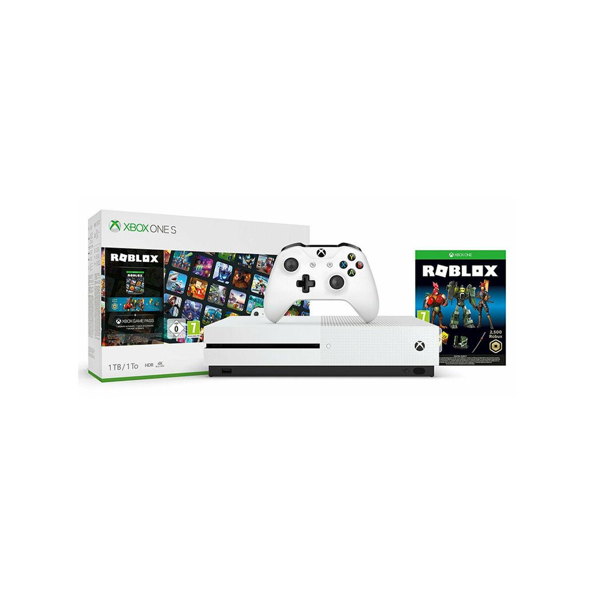 Consola Microsoft Xbox One S 1TB + Juego Roblox