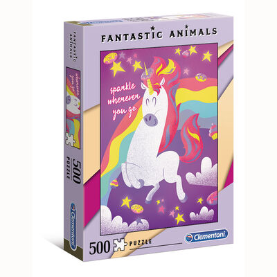 Juego de mesa Clementoni Unicorne - Fantastic Animals
