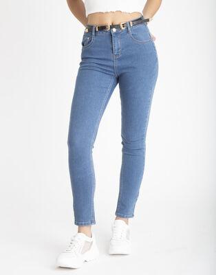 Jeans Push Up Cinturón Mujer Icono
