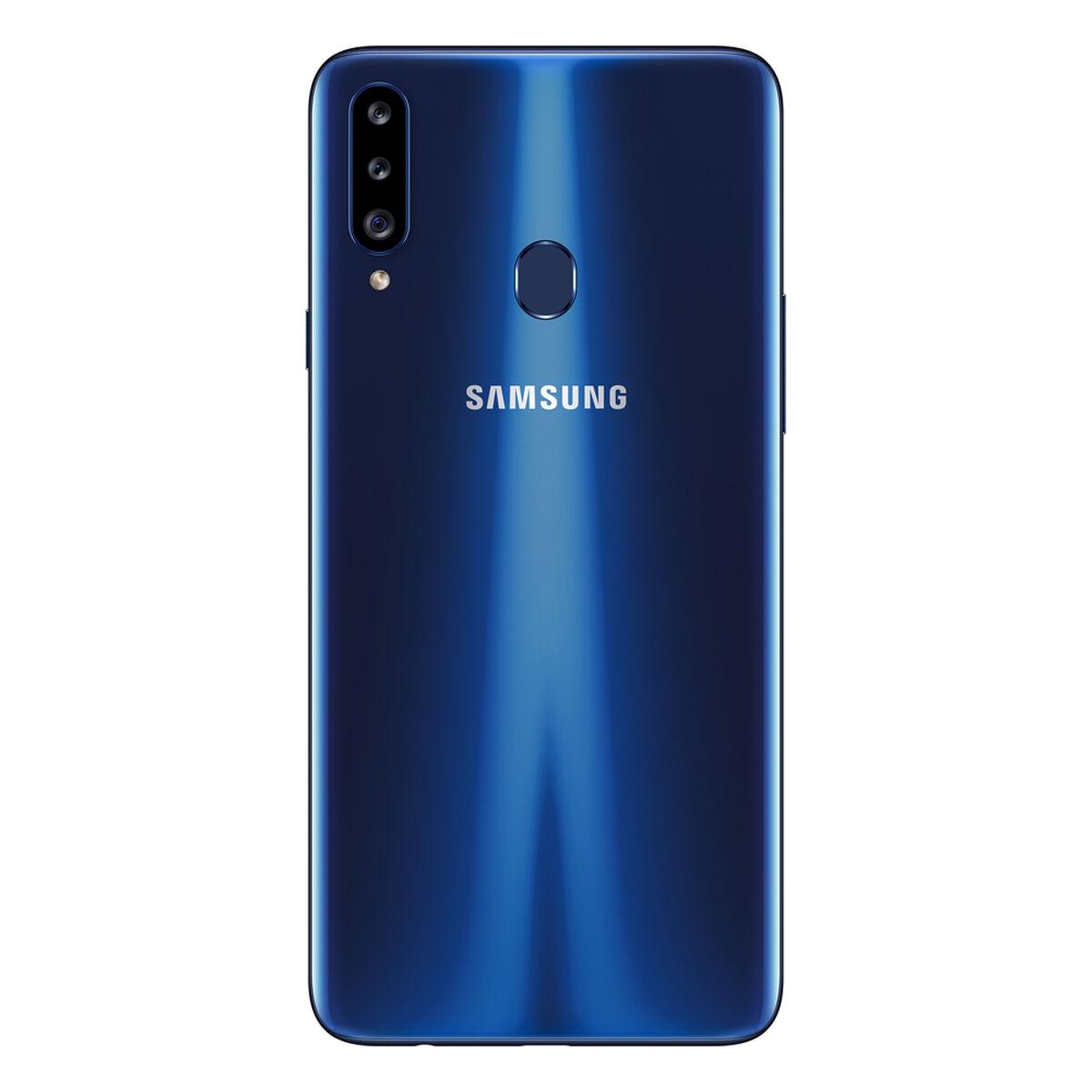 "Celular Samsung Galaxy A20s 32GB 6.4"" Azul Liberado"