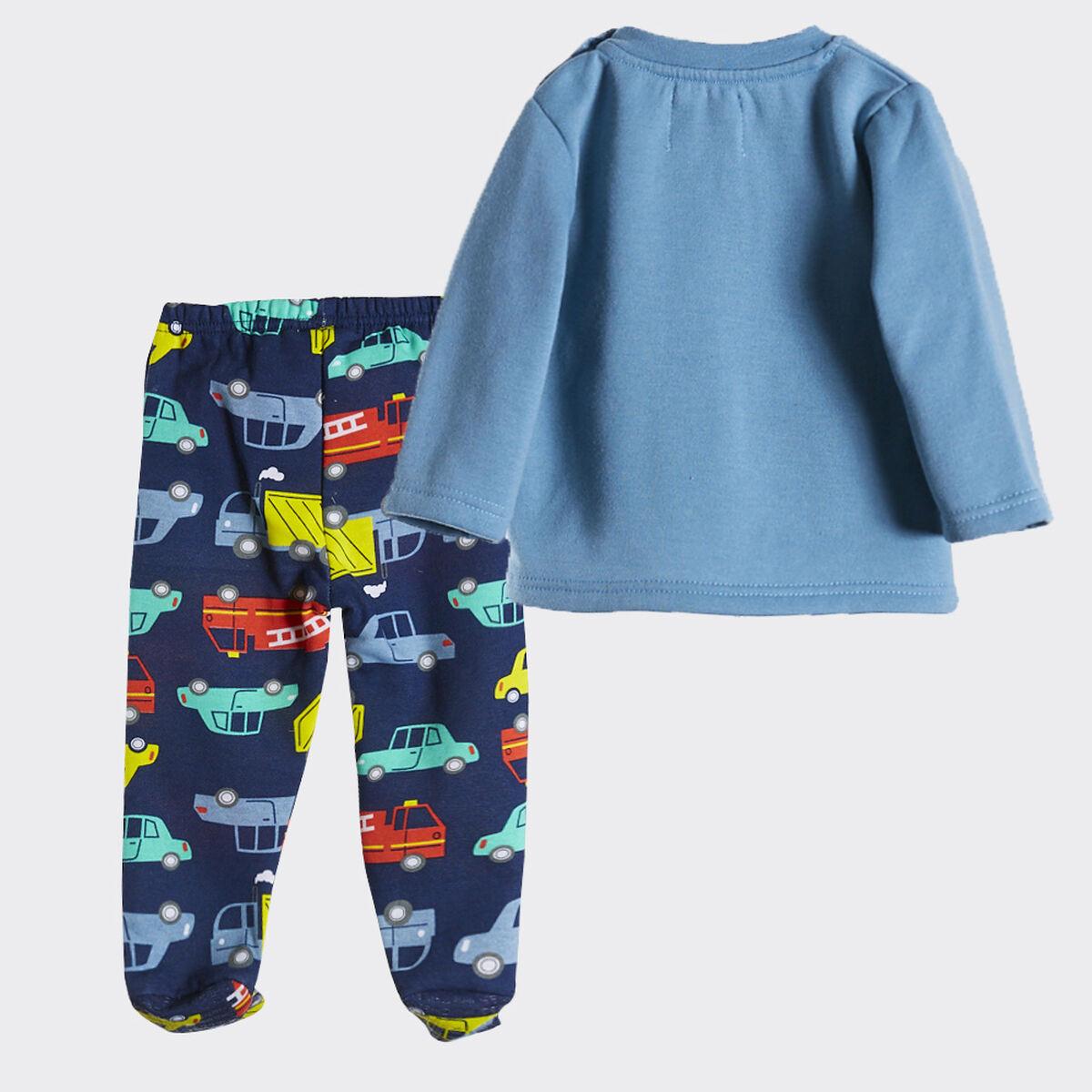 Pijama de Algodón Bebo Chess Baby