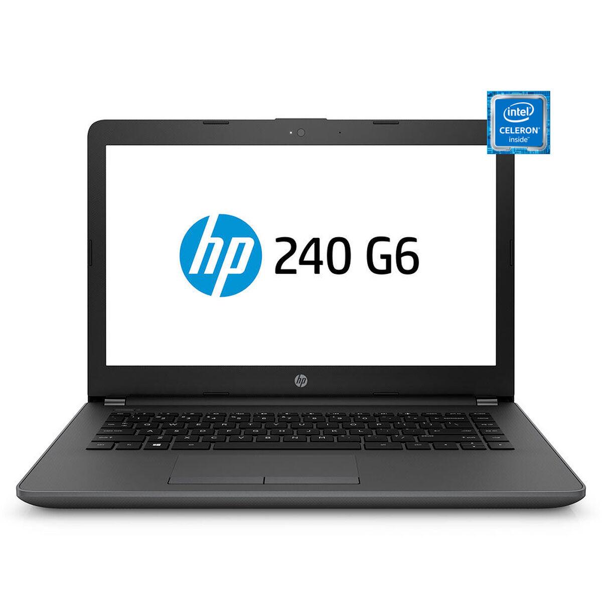 "Notebook HP 240 G6 Celeron 4GB 500GB 14"""