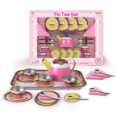 Juego de Tazas Tin Tea Set