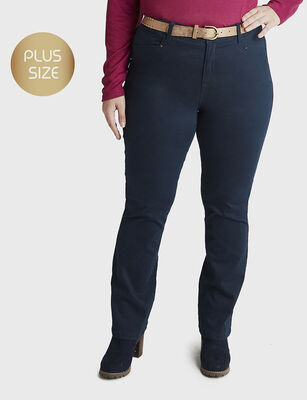 Jeans Recto Mujer Curvi