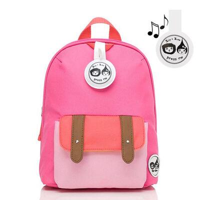 Mochila Hot Pink Zip Zoe Colourblock Mini Backpack