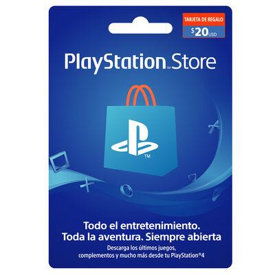 Gift Card 20 USD para PS4