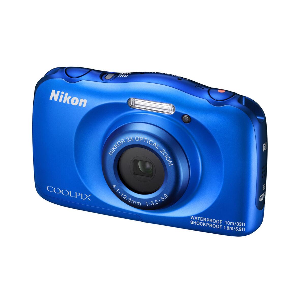 Cámara Nikon Coolpix W100 13,2 MP Azul