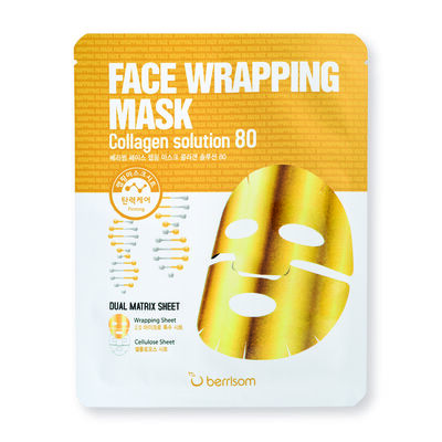 Mascarilla Facial Face Wrapping Mask Collagen Solution (X1 Un) Berrisom