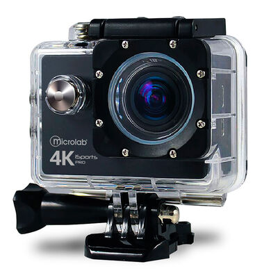 "Camara deportiva Waterproof Microlab Isports Pro 4K 2 """