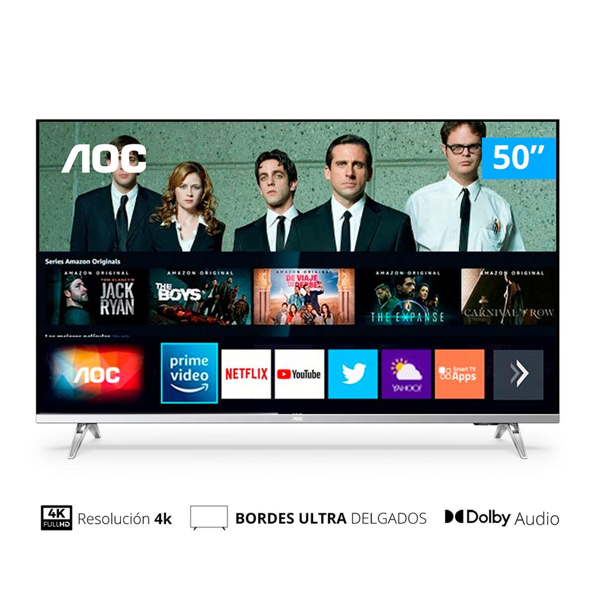 """LED 50"""" AOC 50U6305 Smart TV 4K UHD"""