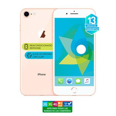 """Celular Apple Iphone 8 64GB 4.7"""" Reacondicionado Dorado Liberado"""