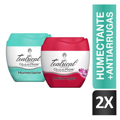 Teatrical Crema Facial Antiarrugas + Humectante