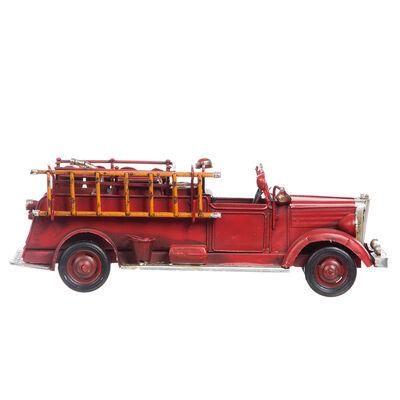 Adorno Camion Bombero Rojo