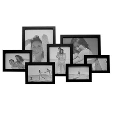 Portaretrato VGO Madera Collage 7 F Negro