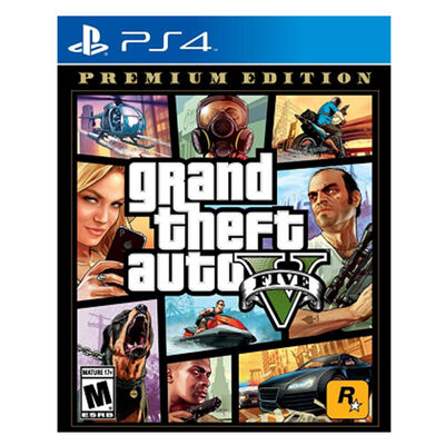 Juego PS4 GTA V Premium Edition