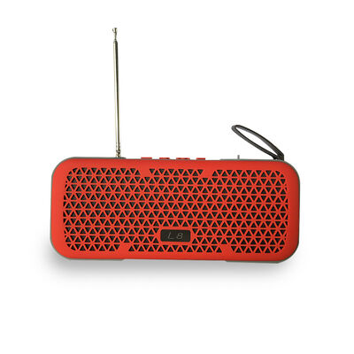 Parlante Bluetooth Lhotse Outdoor L8 Rojo