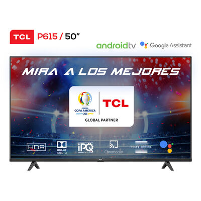 """LED 50"""" TCL 50P615 Android Smart TV 4K UHD"""