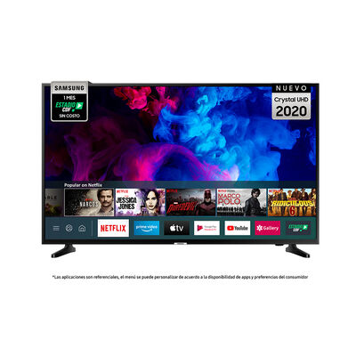 """LED 50"""" Samsung TU7090 Smart TV Crystal 4K UHD 2020"""