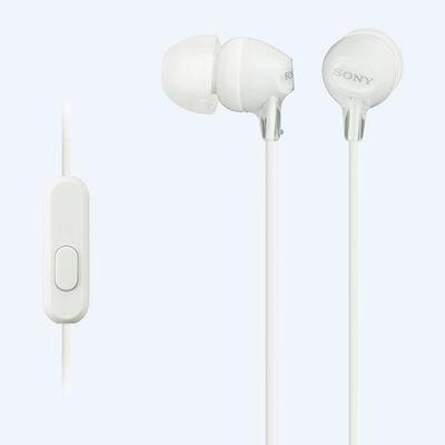 Audífonos Sony MDR-EX15AP Blancos