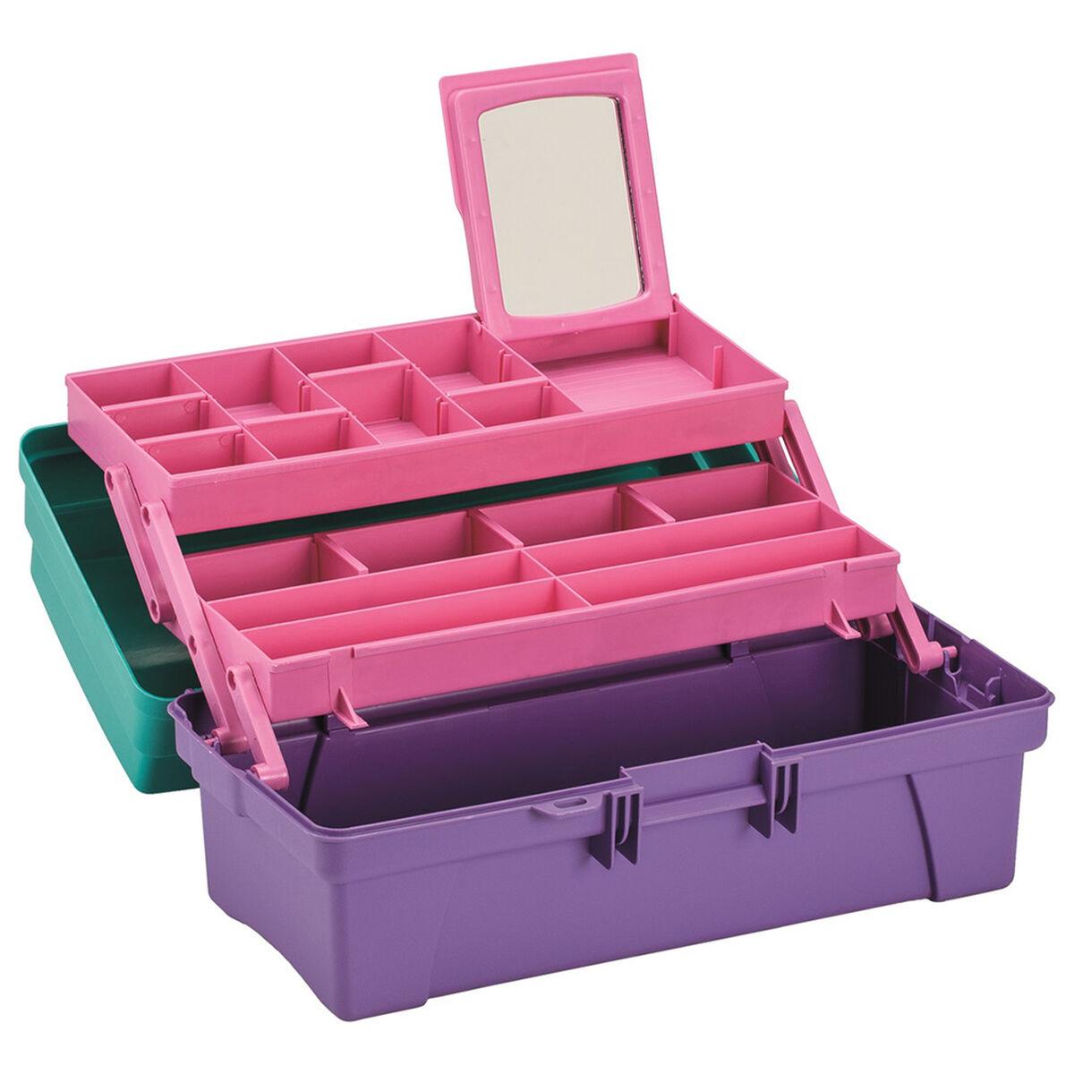 Caja Organizadora Plástica Rimax Rx3436 Verde/Lila