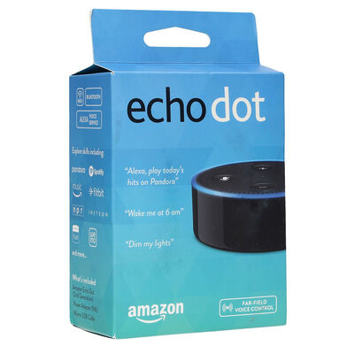 Adaptador  Amazon Alexa Echo Dot Black