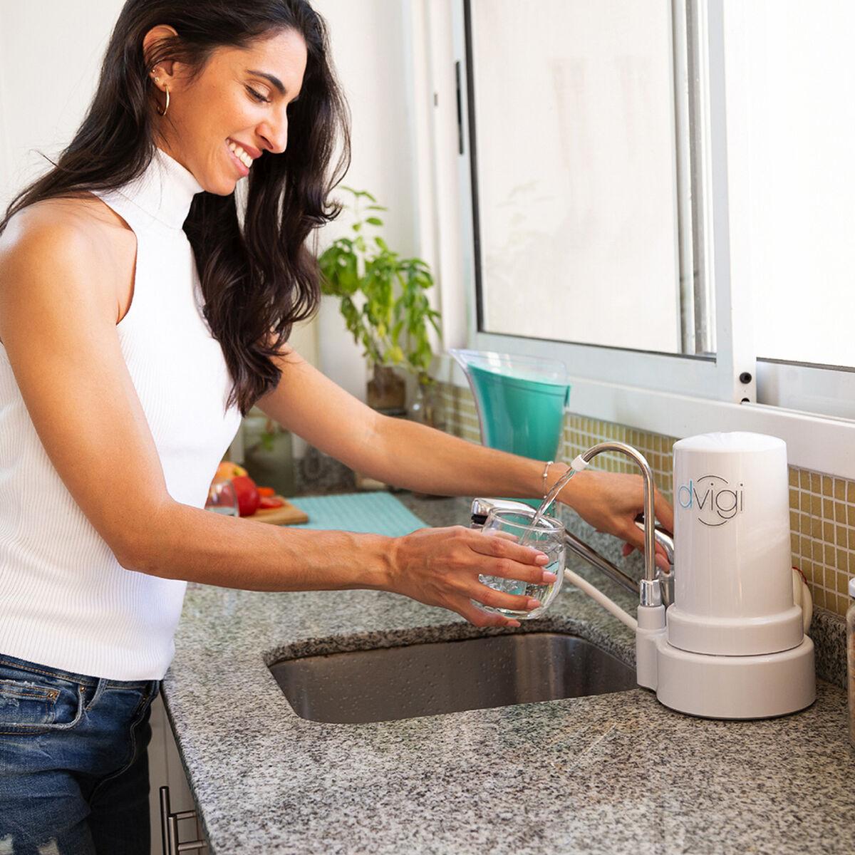 Purificador de Agua Mini Dvigi Sobre Cubierta Blanco