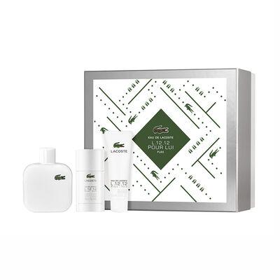 L.12.12 Blanc EDT 100 ml + Desodorante 75 ml + Shower Gel 50 ml