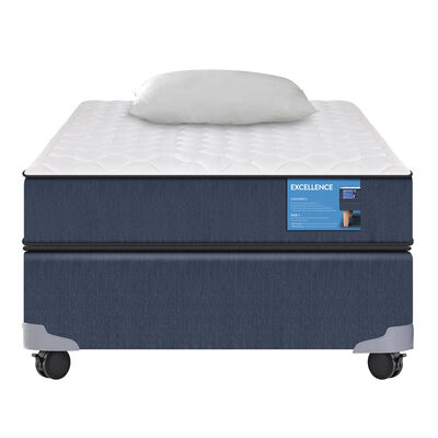 Box Americano Excellence 1.5 Plazas + Almohada
