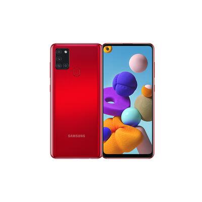 """Celular Samsung Galaxy A21S 128GB 6,5"""" Rojo Liberado"""