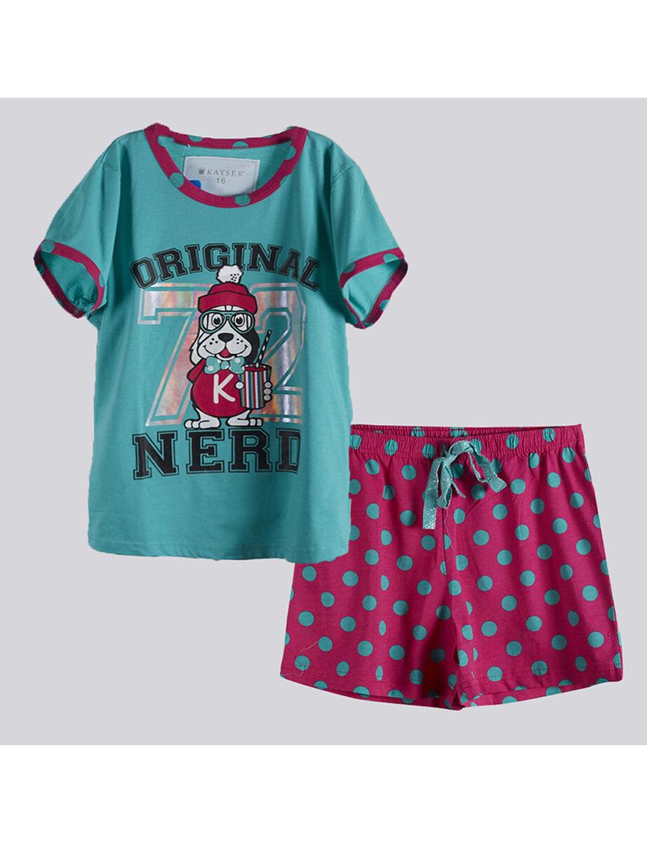 Pijama Corto Niña Kayser