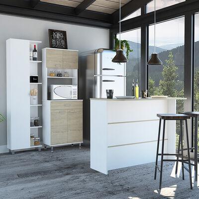 Combo Mueble + Barra Auxiliar + Optimizador TuHome Kitchen